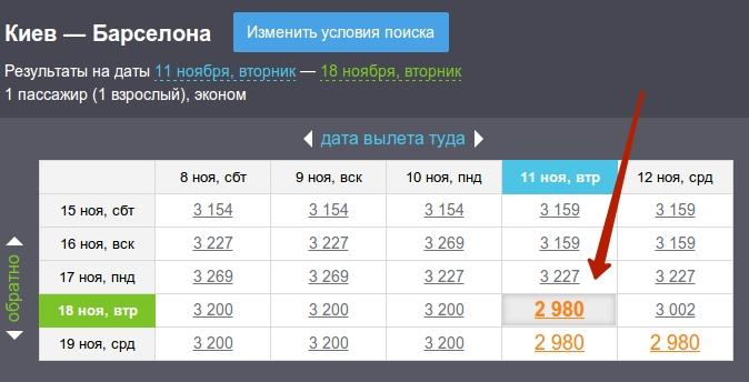 Низкие цены на авиабилеты